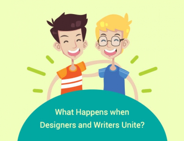 What Happens when Designers and Writers Unite?