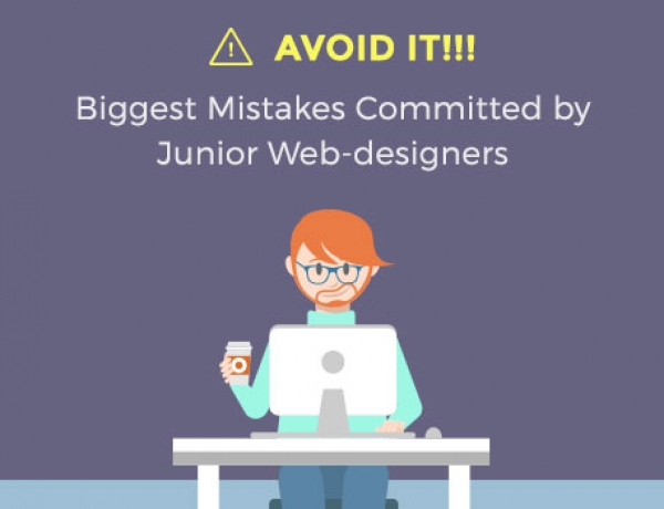 Avoid it!!! Biggest Mistakes Committed by Junior Web-designers